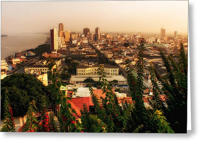 Guayaquil Ecuador 2 Greeting Card by Gestalt Imagery