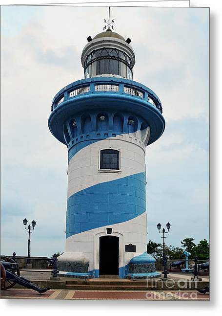 Guayaquil Lighthouse Greeting Card