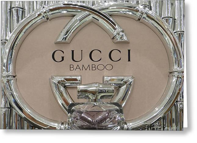 Gucci Bamboo Greeting Card by To-Tam Gerwe