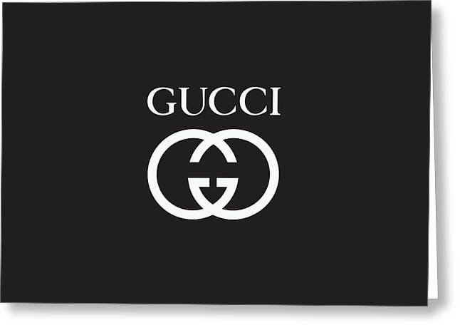 Gucci - Black And White 02 Greeting Card