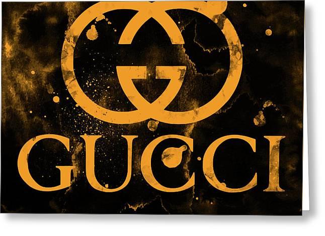3c86e3607bd Gucci Logo Greeting Cards (Page #7 of 8) | Fine Art America