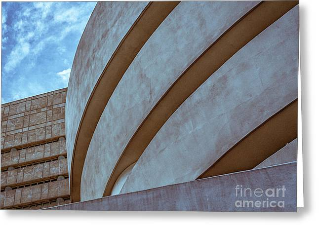 Guggenheim Abstract Greeting Card
