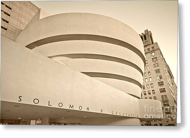 Guggenheim Museum Greeting Card