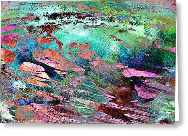 Guided By Intuition - Abstract Art Greeting Card