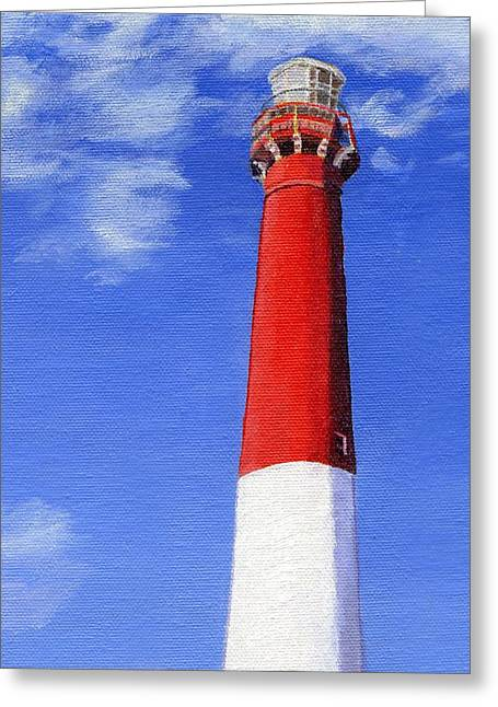 Greeting Card featuring the painting Guiding Light by Lynne Reichhart