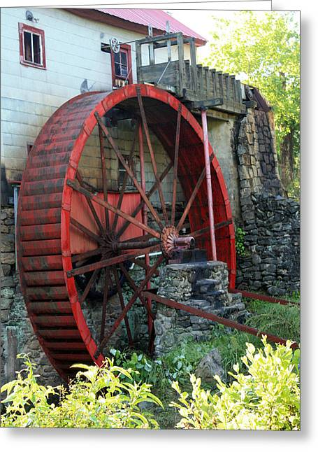 Guilford Mill Water Wheel Greeting Card
