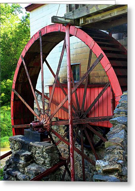 Guilford Mill Wheel Greeting Card