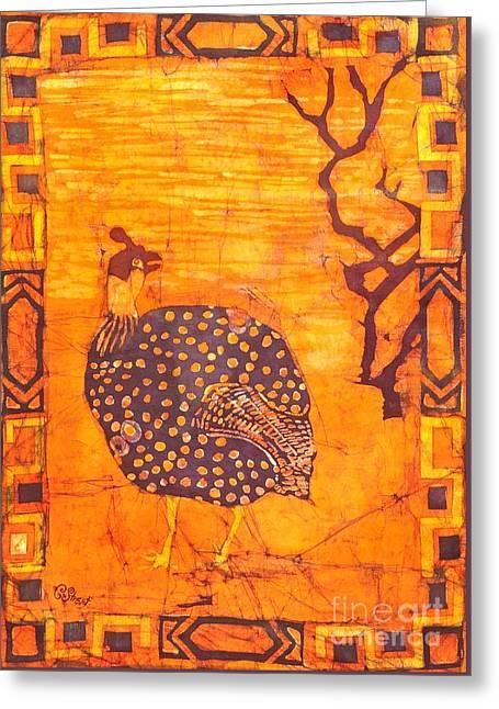 Guinea Fowl Greeting Card