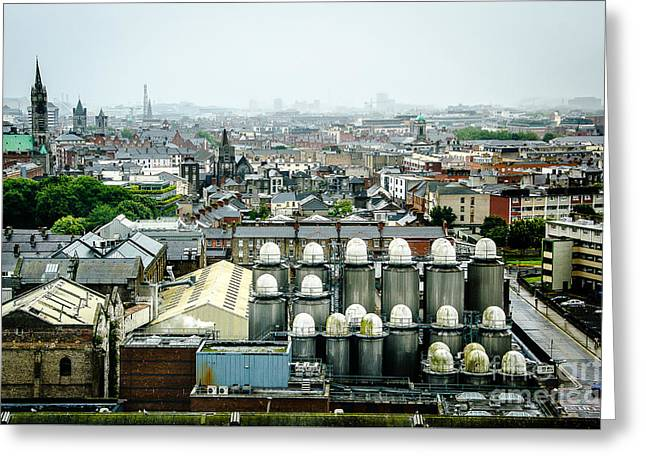 Guinness Brewery In Dublin Greeting Card by RicardMN Photography
