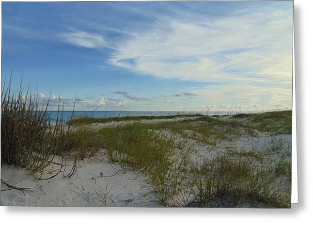 Gulf Islands National Seashore Greeting Card