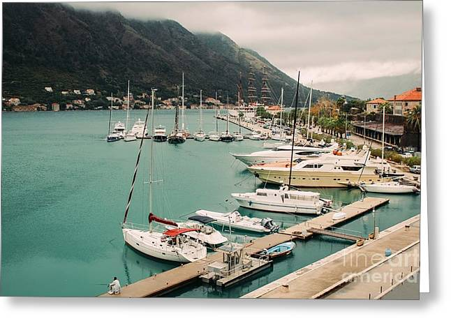 Gulf Of Kotor Greeting Card