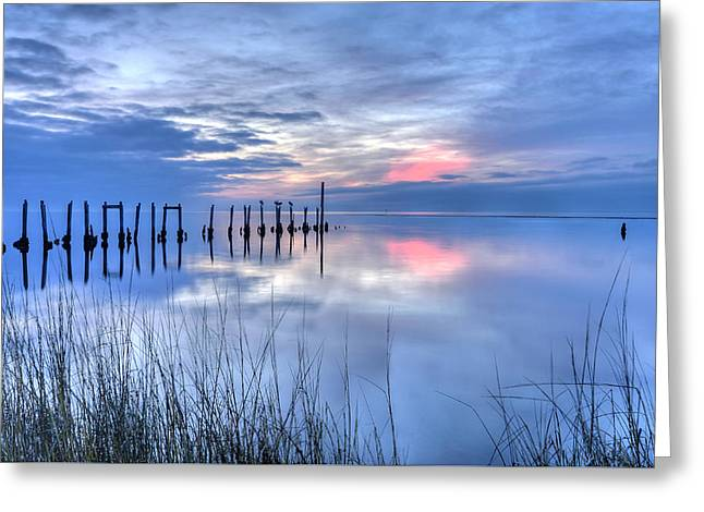 Gulf Reflections Greeting Card