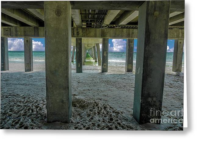 Gulf Shores Park And Pier Al 1649 Greeting Card
