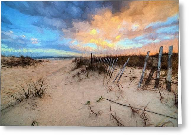 Gulf State Park In Orange Beach Greeting Card