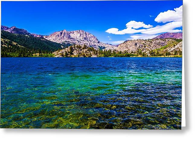 Gull Lake Near June Lakes California Greeting Card