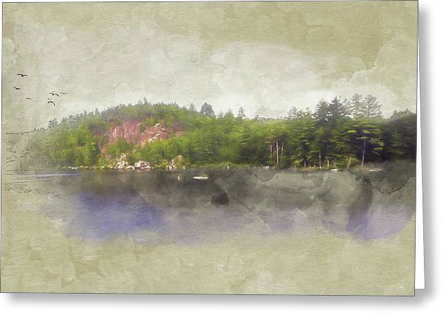 Gull Pond Greeting Card