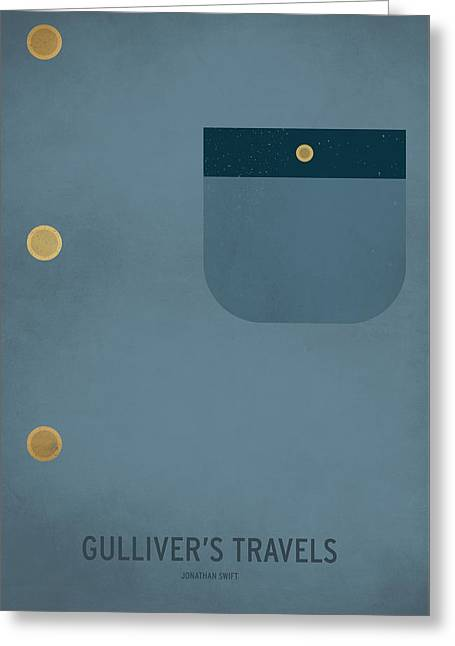 Gulliver's Travels Greeting Card by Christian Jackson