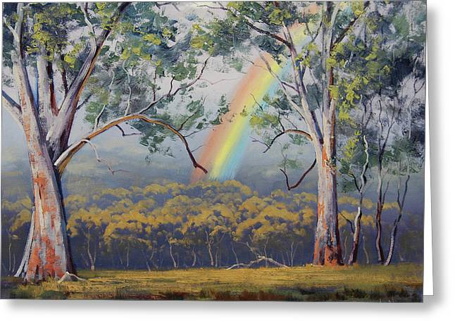Gums With Rainbow Greeting Card