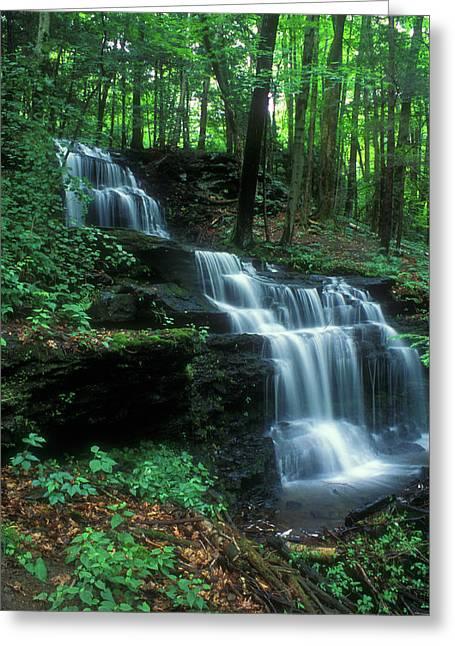 Gunn Brook Falls Greeting Card