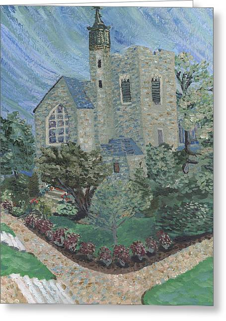 Gunnison Chapel In The Last Days Of Summer Greeting Card
