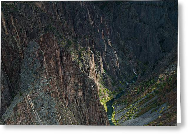 Gunnison River Greeting Card