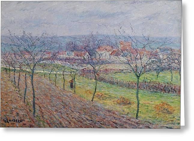 Gustave Loiseau 1865 - 1935 Big Spring Landscape Greeting Card