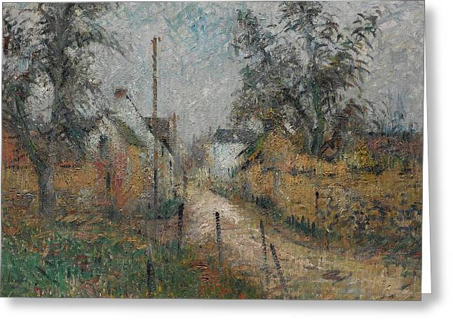 Gustave Loiseau 1865 - 1935 Farm In Normandy Greeting Card