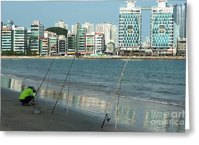 Gwangan Beach Greeting Card