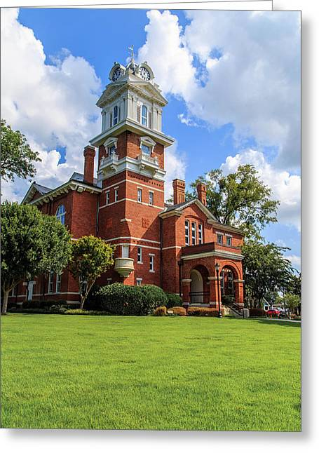 Gwinnett County Historic Courthouse Greeting Card