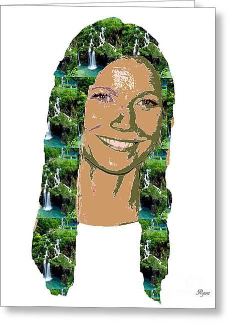 Gwyneth Paltrow Greeting Card