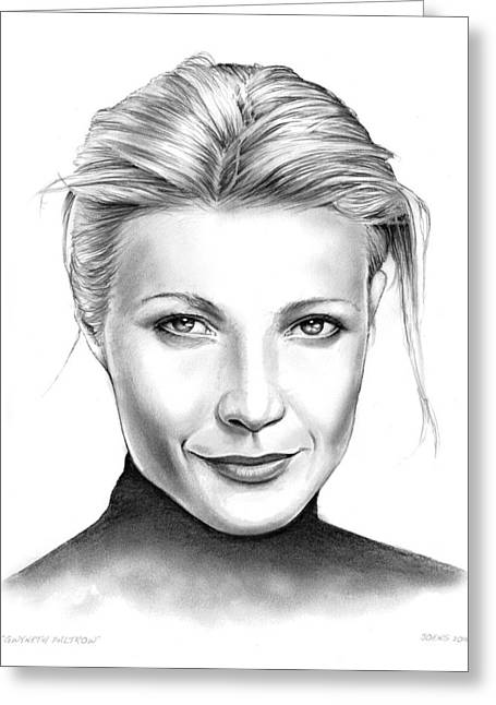 Gwyneth Paltrow Greeting Card