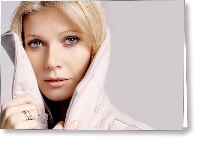 Gwyneth Paltrow Mujer Rubia1 Greeting Card