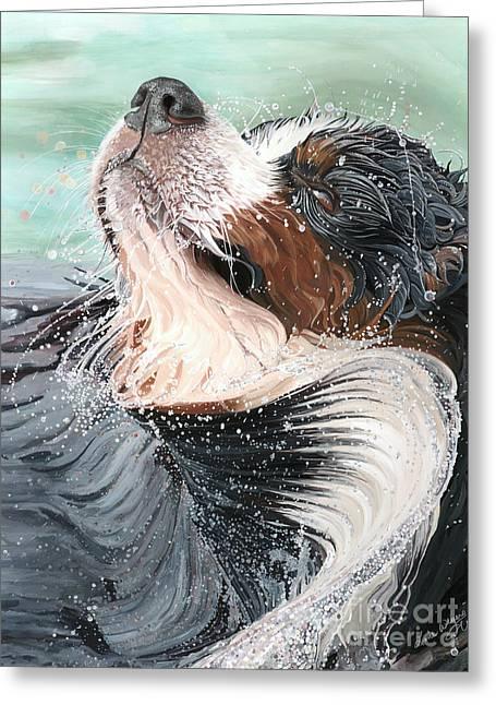 H2O Greeting Card by Liane Weyers