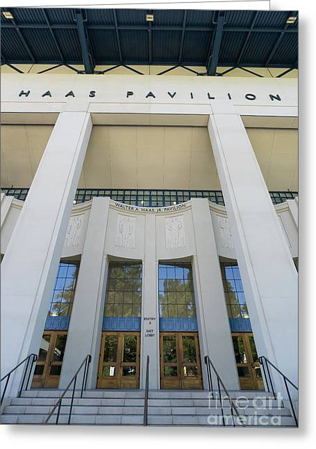 Haas Pavilion At University Of California Berkeley Dsc6304 Greeting Card