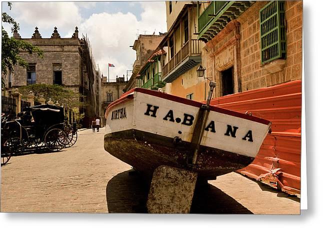Habana Greeting Card