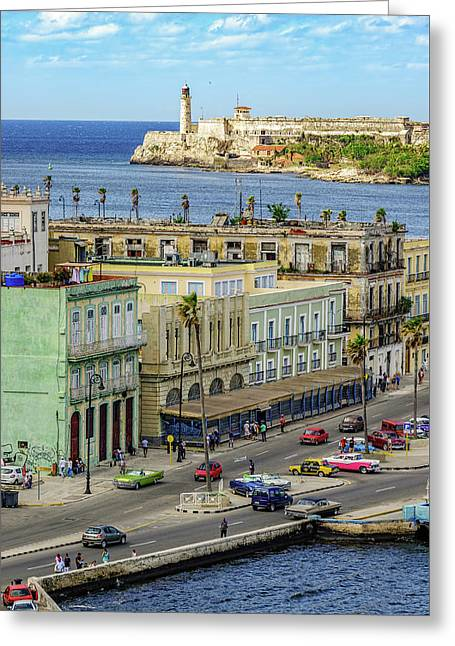 Greeting Card featuring the photograph Habana Havana  by Steven Sparks
