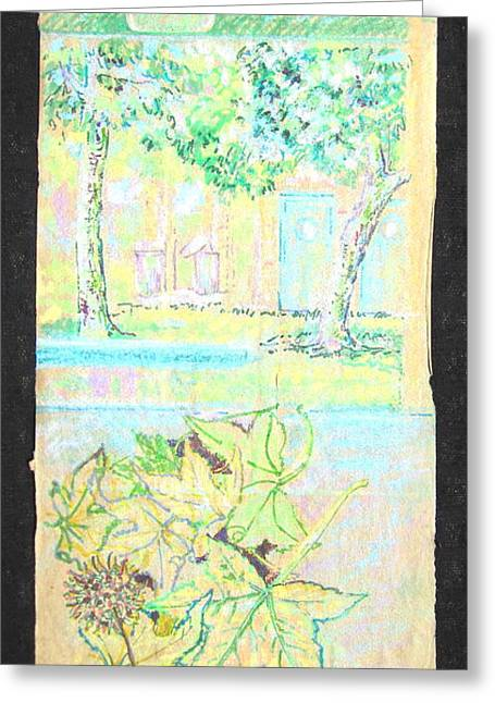 Habitat At Mile Square Park Greeting Card by Radical Reconstruction Fine Art Featuring Nancy Wood