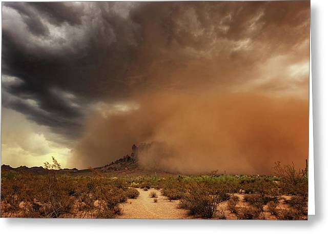 Haboob Is Coming Greeting Card