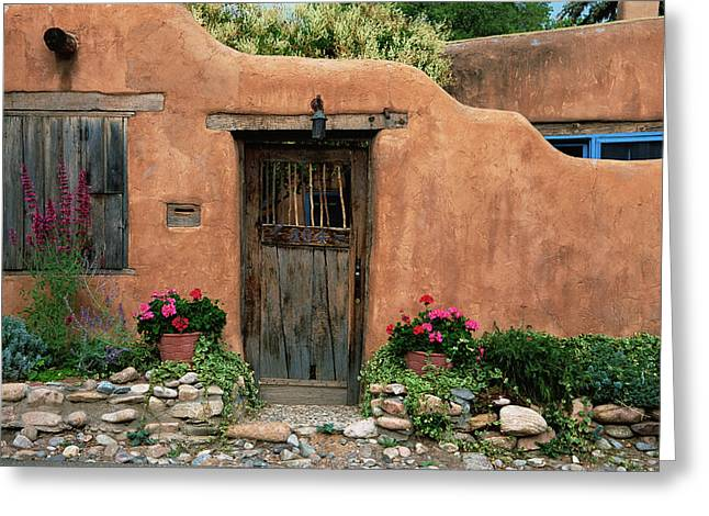 Hacienda Santa Fe Greeting Card