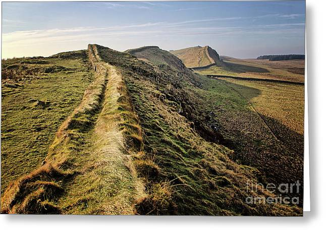 Hadrians Wall Greeting Card