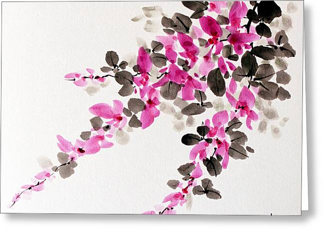 Hagi / Bush Clover Greeting Card