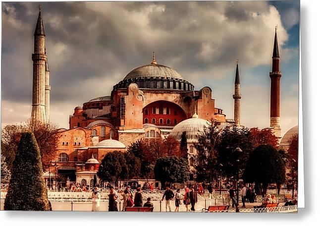 Hagia Sofia - Istanbul Greeting Card
