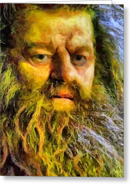 Hagrid Greeting Card
