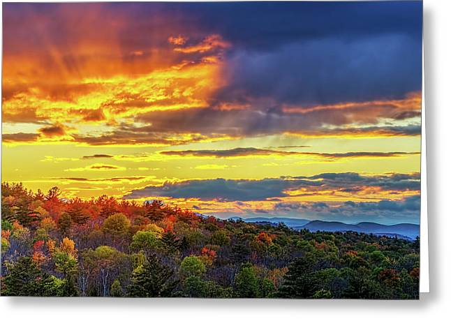 Hague Sunset 4 Greeting Card by Tony Beaver