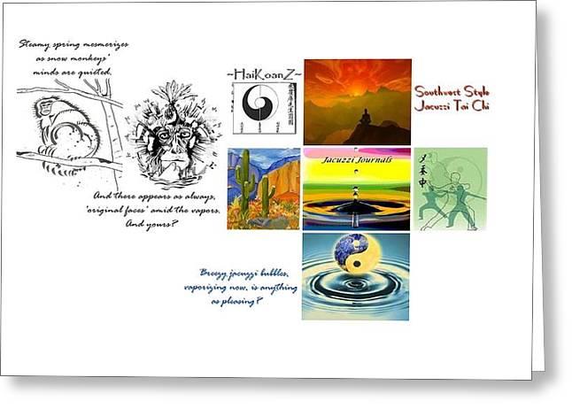 Haikoanz Greeting Card