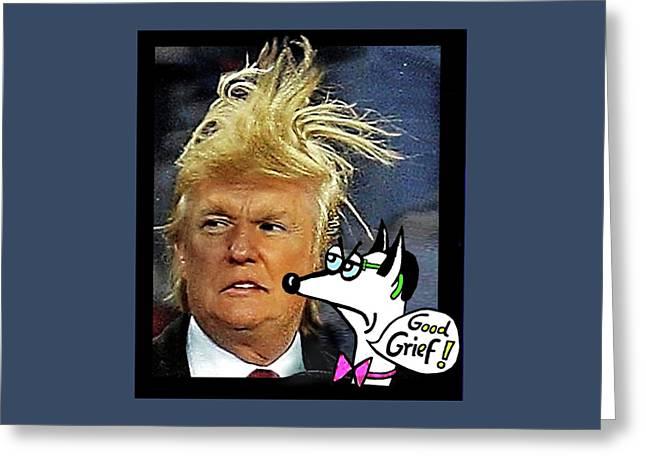 Hail  Emperor Trump...   Greeting Card