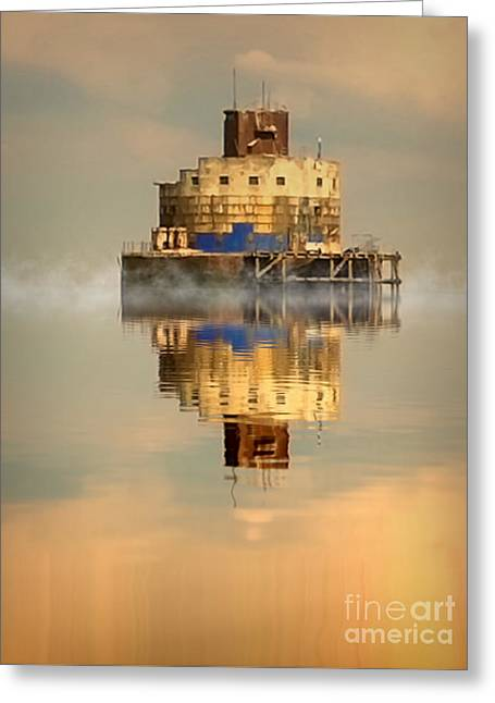 Haile Sand Fort Greeting Card by Nick Wardekker