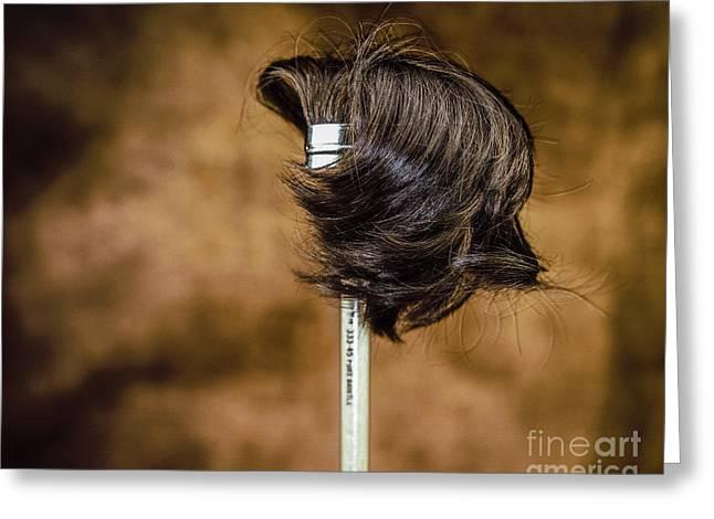 Hairbrush Greeting Card