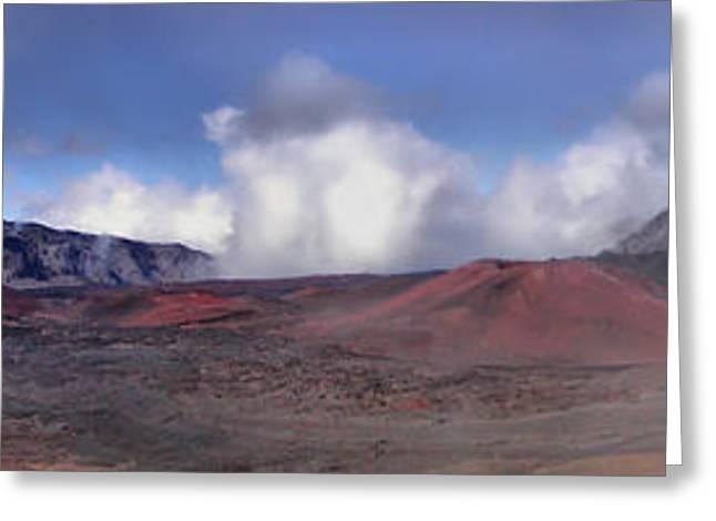 Haleakala Crater Maui Greeting Card