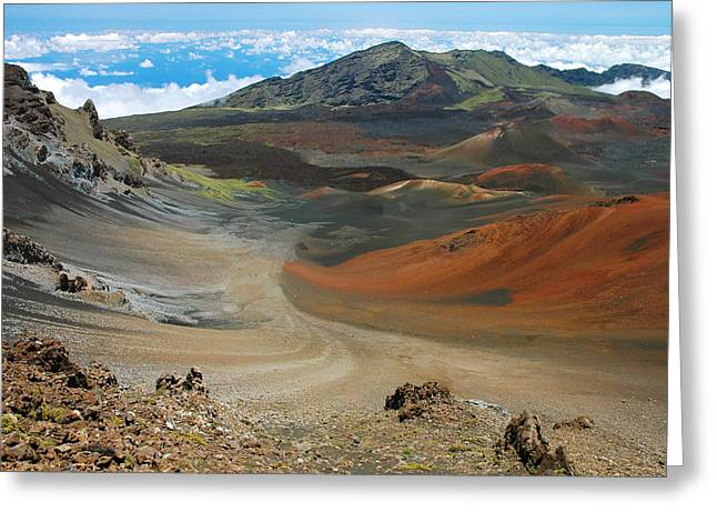 Haleakala Grandeur Greeting Card